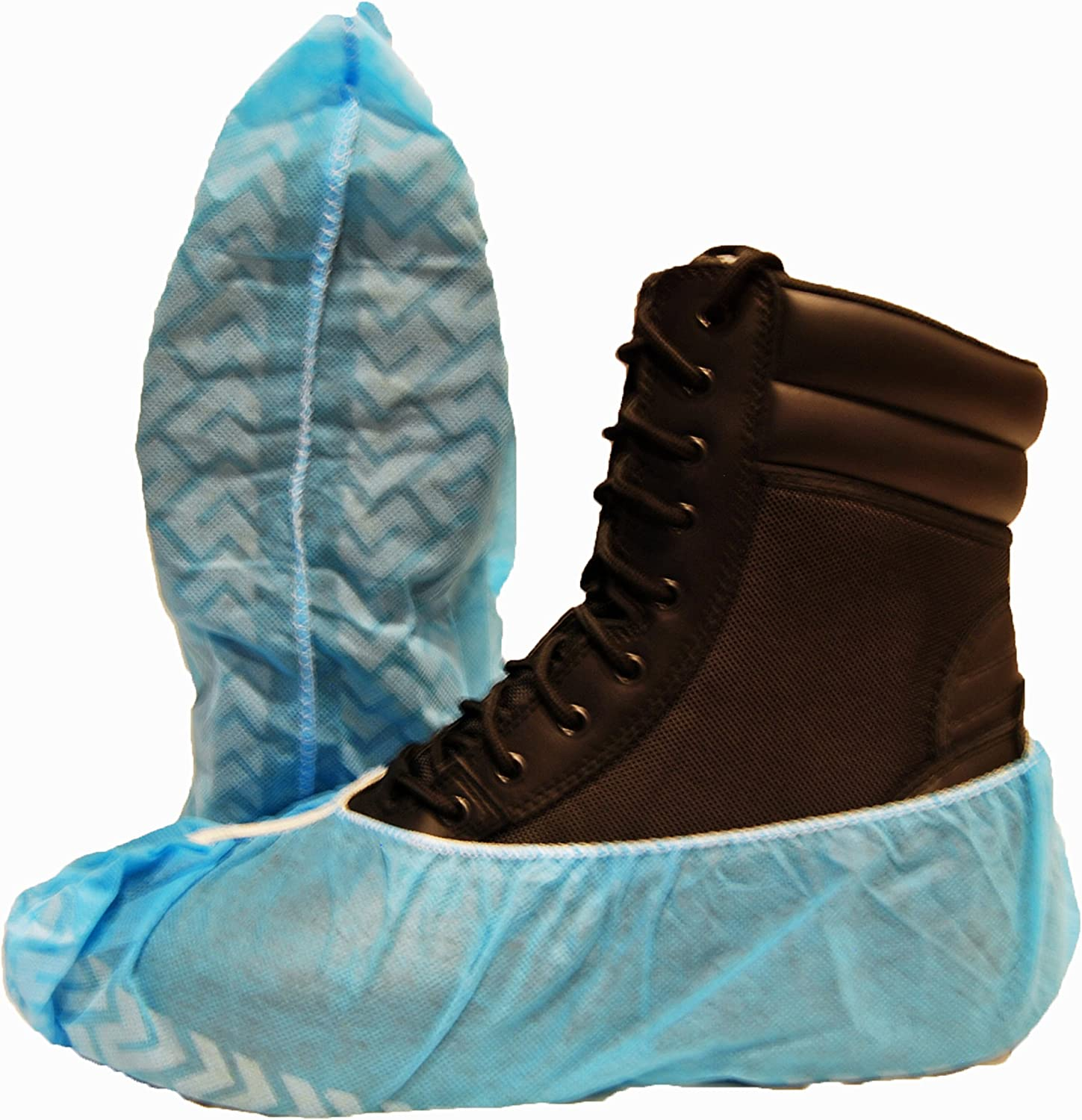 Non Skid Shoe Covers Work Portland Mall Booties High material 100 Pack Size Boot