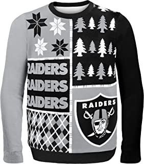 Best raiders christmas sweater with lights Reviews