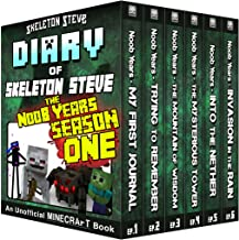 Diary of Minecraft Skeleton Steve the Noob Years - FULL Season One (1): Unofficial Minecraft Books for Kids, Teens, & Nerd...