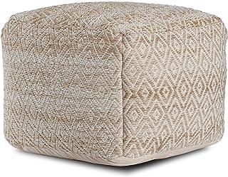 Amazon Com Poufs Square Poufs Accent Furniture Home Kitchen