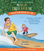 Magic Tree House Collection: Books 25-28: #25 Stage Fright on a Summer Night; #26 Good Morning, Gorillas; #27 Thanksgiving...