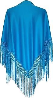 d384bddf0 Amazon.es: manton de manila - Azul
