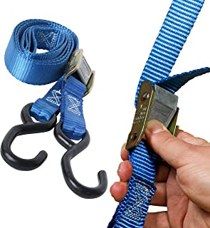 DC Cargo Mall 2 Motorcycle Kayak Tie-Down Cam Straps 1