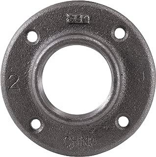 LDR 310 F-2 Floor Flange, Black, 2-Inch