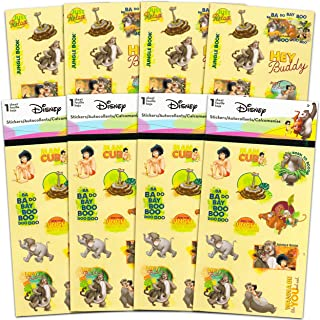 Disney The Jungle Book Stickers Party Favors Set ~ Bundle Includes Over 100 Jungle Book Stickers Featuring Mowgli, Baloo, ...