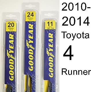 Toyota 4 Runner (2010-2014) Wiper Blade Kit - Set Includes 24