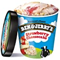 Ben & Jerry's  Strawberry Cheesecake Ice Cream 16 oz