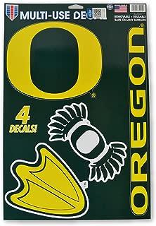 Official National Collegiate Athletic Association Fan Shop Licensed NCAA Shop Multi-use Decals (Oregon Ducks)
