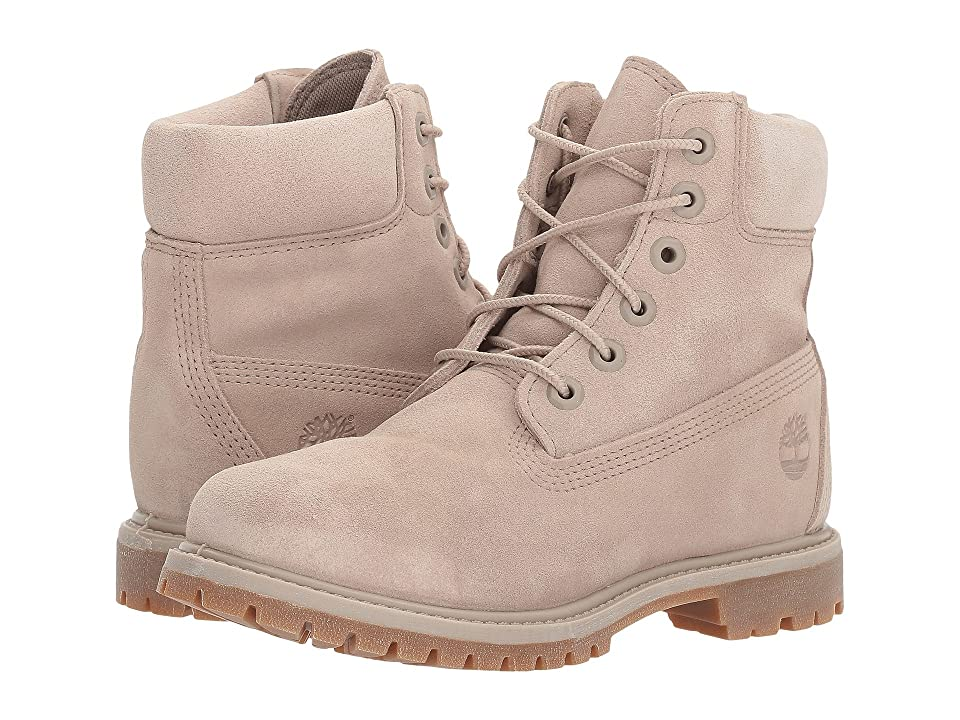 Timberland 6 Premium Boot (Simply Taupe Suede) Women