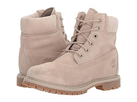 "6"" Premium Boot, Simply Taupe Suede"
