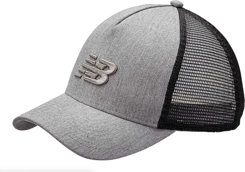 New Balance Men's and Women's Essential Trucker Mesh Baseball Hat, Mesh Snapback Cap