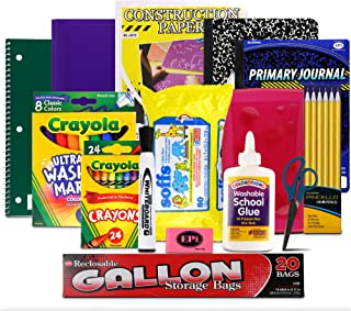 Sponsored Ad - Essential School Supply Kit for Kindergarten and First Grade Students
