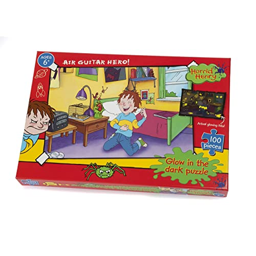 Horrible Henry Classe Puzzle 250 pièces Glow in the Dark Jigsaw-Paul Lamond