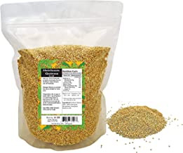 Heirloom Quinoa Gold 100% Whole Grain Organic Pre Washed Ready to Cook (White, 18 LB)