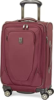 Crew 10 21 Inch Expandable Spinner Suiter, Merlot, One Size