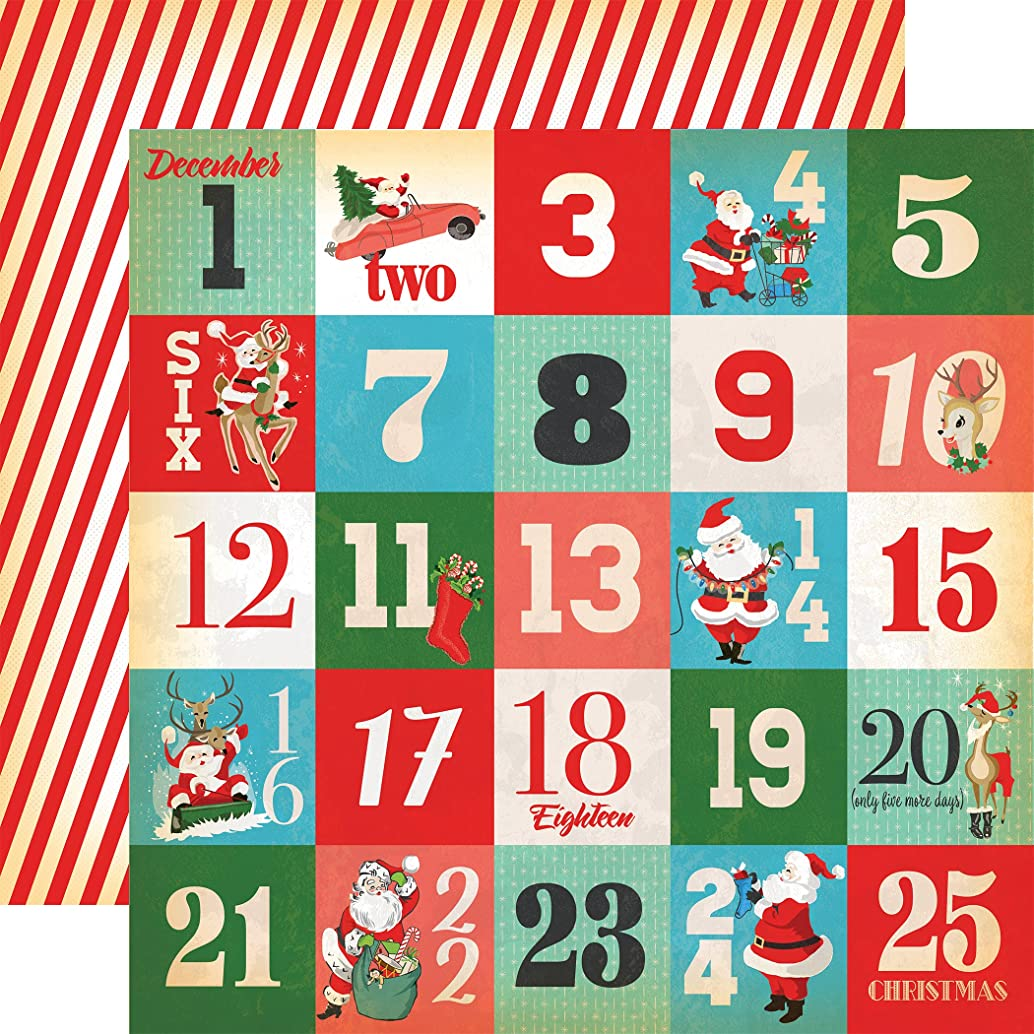 Echo Park Paper CBVMC72010 A Very Merry Christmas Double-Sided Cardstock 12