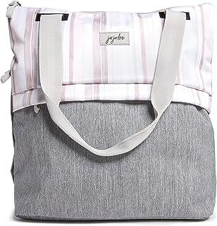 JuJuBe All Purpose Shoulder Tote Bag | Glacier Gray | Durable Waterproof Travel Bag with Exteriors & Interior Pockets, Lightweight Machine Washable Shoulder Bag, Gym Bag, Beach Bag or Diaper Bag