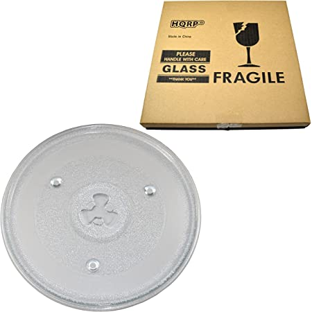 HQRP Coaster HQRP 10-1//2 inch Glass Turntable Tray compatible with Sunbeam SGB8901 SR11093 SR11093B SR-11093 SR-11093B GAEMU1000P23 Microwave Oven Cooking Plate 270mm