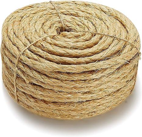 Cuerda de sisal natural suprema para gatos: Amazon.es ...