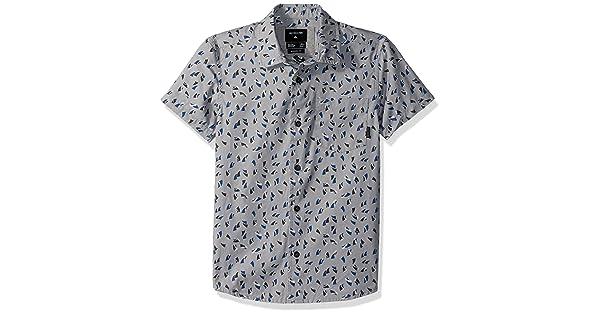 Quiksilver Boys Akan Waters Youth Button Up Shirt EQKWT03139