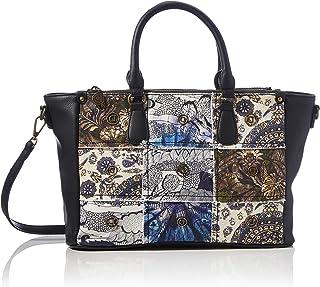 Desigual Accessories Fabric Hand Bag, Sac à Main. Femme, Noir, U