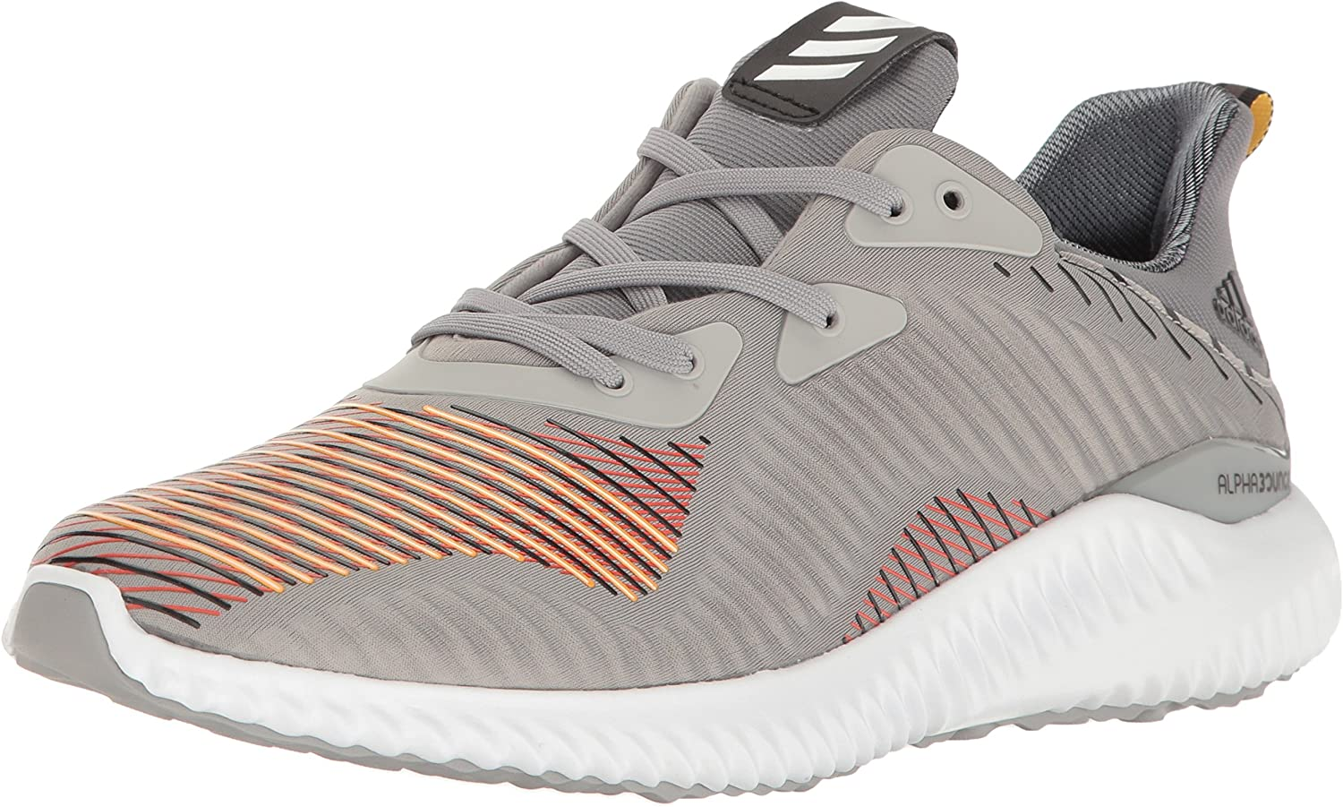 Adidas Performance Men's Alphabounce HPC m Running schuhe, Medium grau schwarz schwarz, 12 M US