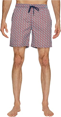 Mr. Swim - Verticle Zig Dale Swim Trunks
