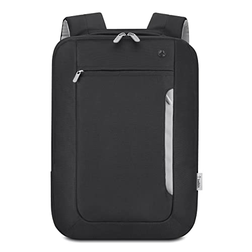 858567c2a1 Belkin Slim Polyester Backpack for Laptops and Notebooks up to 15.4    (Black