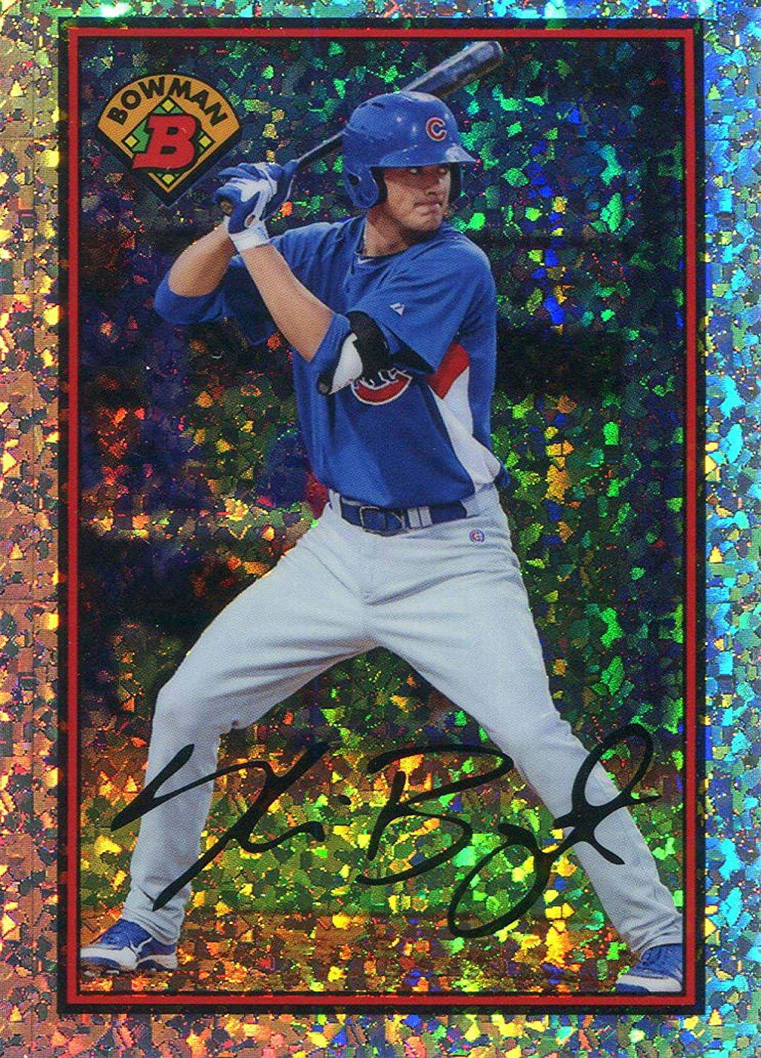Kris Bryant Unsigned 2014 Bowman - Slabbed Card Baseball Rookie Mail order Large-scale sale cheap