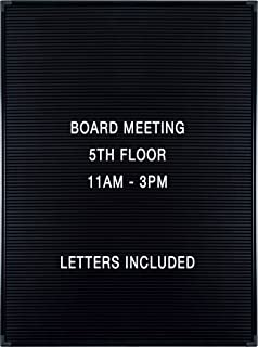 Balt Essentials Black Letter Board with Letters 18