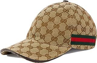 GUCCI ORIGINAL GG CANVAS BASEBALL グッチ キャップ 帽子 ベースボールキャップ GGキャンバス 200035 KQWBG [並行輸入品]