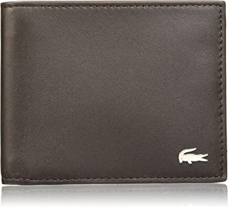 Lacoste NH1115FG Fg S Billfold, Dark Brown, 11 Centimeters