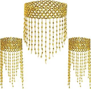 1920s Bead Tassel Necklace Wrist Ankle Bracelet Belly Dance Accessories