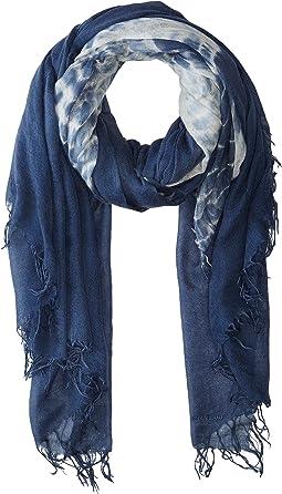 Cashmere & Silk Tie-Dye Scarf