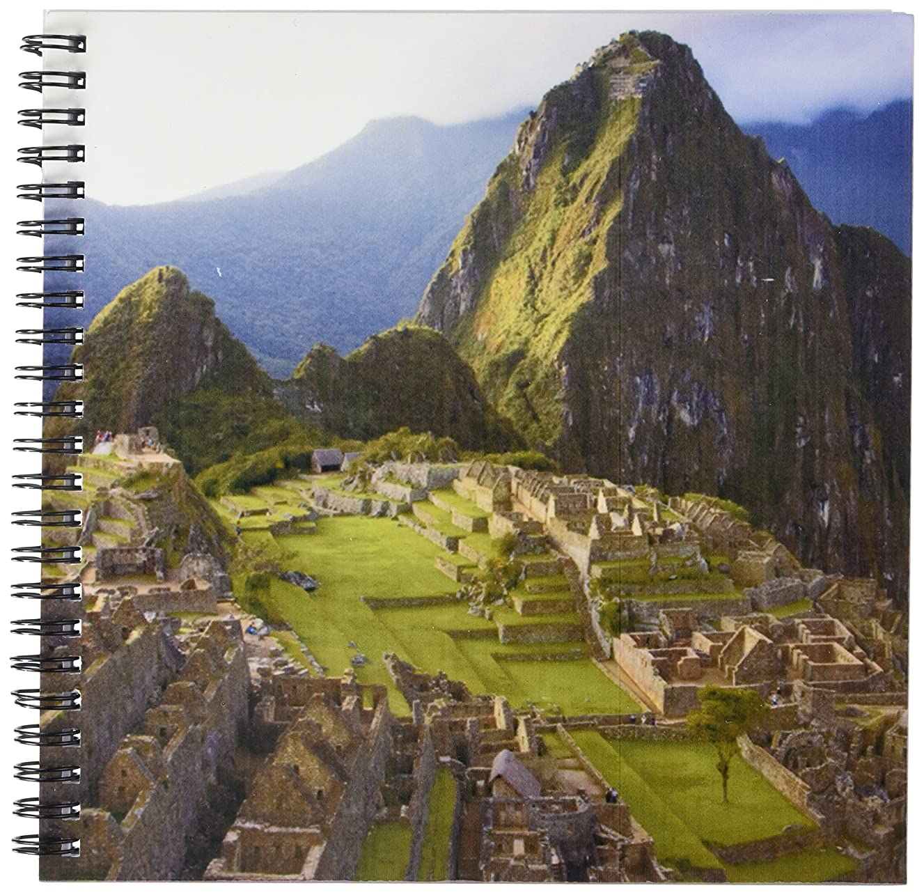 3dRose db_87009_1 Machu Picchu, ruins of Inca city, Peru - SA17 JME0319 - John and Lisa Merrill - Drawing Book, 8 by 8-Inch