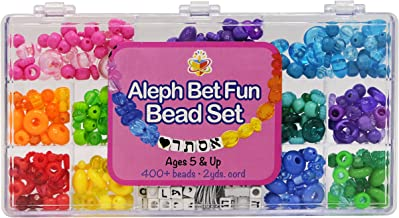 Aleph Bet Bead Set, Alef Bais Fun Ages 5 and Up