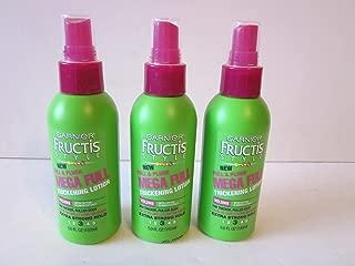 Garnier Fructis Full & Plush Mega Full Thickening Lotion 5.0 Oz (Pack of 3)