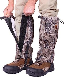 گترهای پای Pike Trail - گترهای برفی ضد آب و قابل تنظیم برای پیاده روی ، پیاده روی ، شکار ، کوه نوردی و کفش برفی