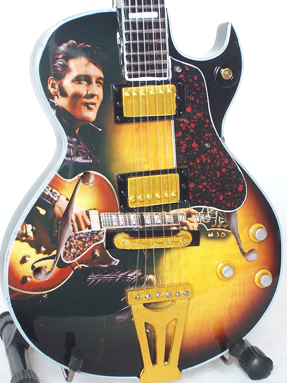 Axe Heaven Elvis Presley EP361 - Guitarra semiacústica en miniatura