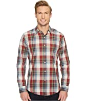 Laundered Fitted Long Sleeve Shirt