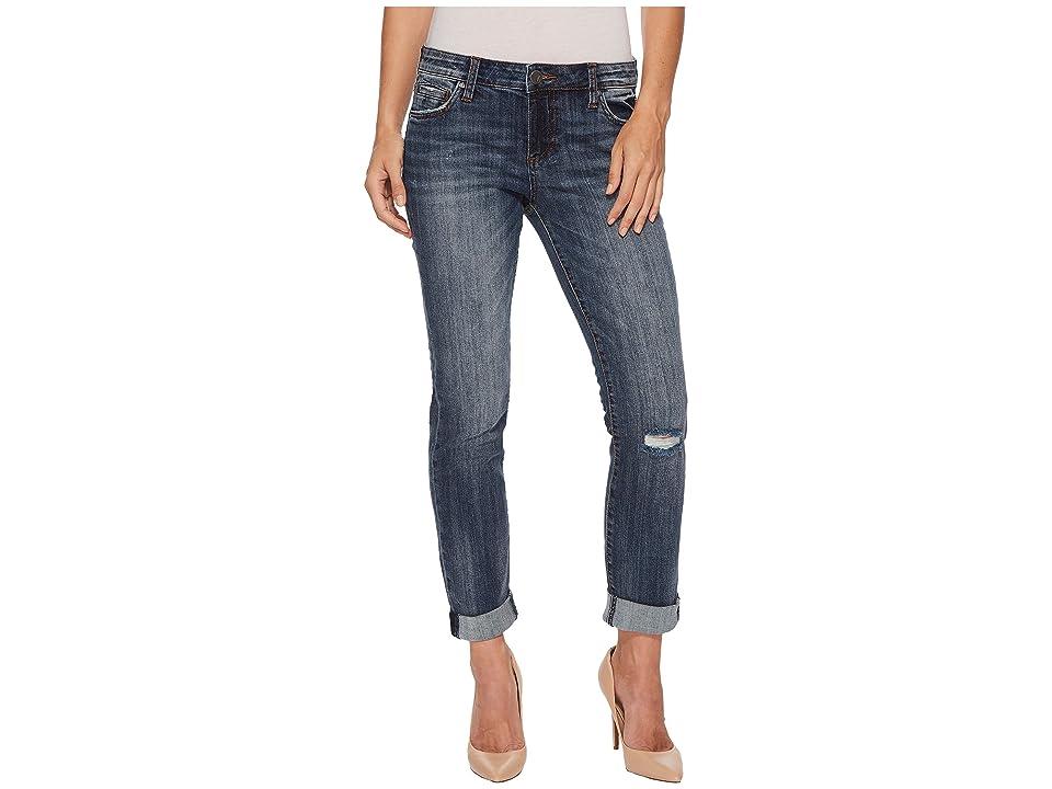 KUT from the Kloth Catherine Boyfriend Jeans in Uncommon (Uncommon/Medium Base Wash) Women