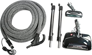 Cen-Tec Systems 93026 Central Vacuum Electric Kit with CT25, CT10, and 35 Foot Pigtail Hose