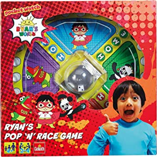 Goliath Games GL60066 Ryan's World Pop n Race, Classic Fast Action Game for Kids Aged 5+, Multi