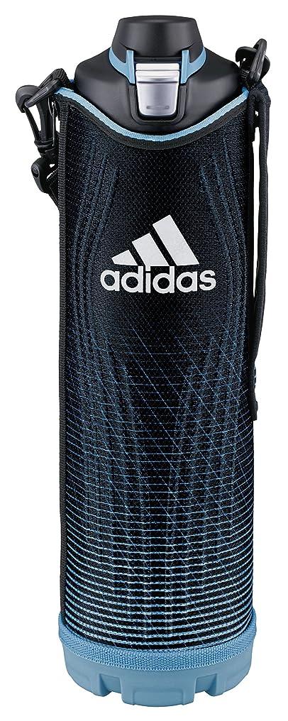 機構敬意男タイガー 水筒 1.5L 直飲み アディダス ブルー ポーチ付き スポーツ ボトル MME-D15X-A Tiger Adidas