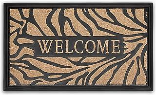 Sempiternity Premium Doormat/Heavy Duty Doormat/Indoor Outdoor/Durable Rubber Door Mat [ 29x17 ], High Traffic Areas, Low-Profile Mats, Entry, Patio, Waterproof, Easy Clean