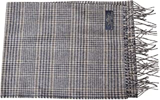 "Anny's 100% Cashmere Plaid Scarf 12""x72"" with Gift Bag - Men Cashmere - Cashmere Women (22 Colors)"