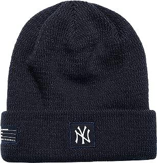 New Era MLB New York Yankees Sport Stocking Knit Hat Beanie Cuff Skull Cap Navy