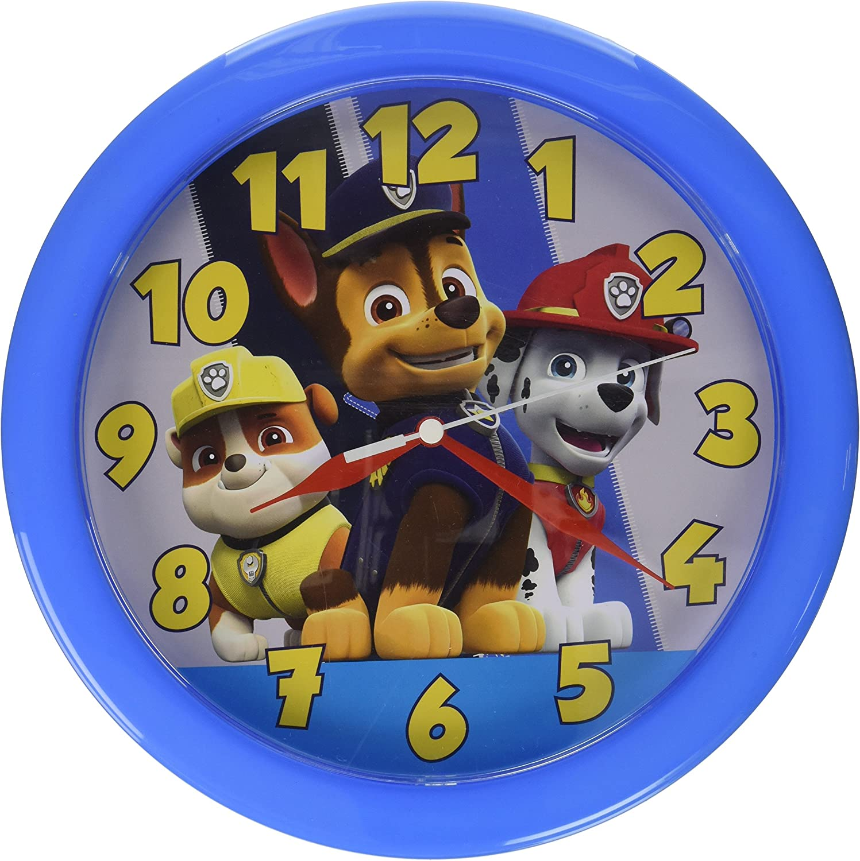 Paw Patrol 10 Inch Round Clock