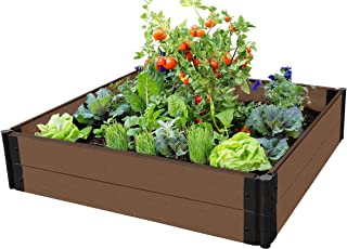 "Frame It All Raised Garden Bed 4' x 4' x 11"" – 1"" Profile"
