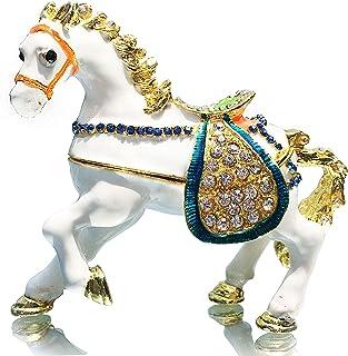 Image of Jeweled Horse Trinket Box